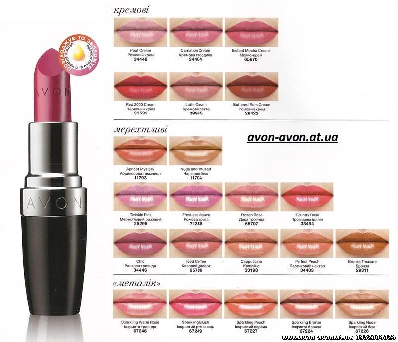 Декоративная косметика - насыщенная губная помада - 4 сентября 2013 - блог - официальный сайт бесплатная регистрация avon в укра.